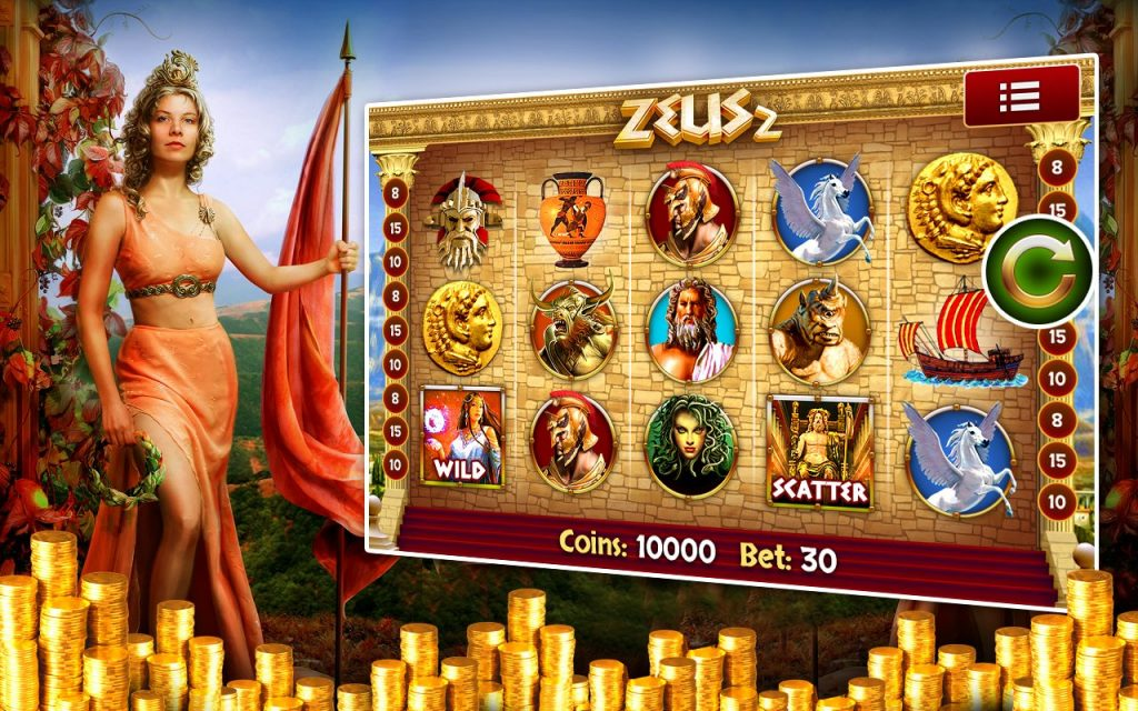 Zeus slot machine cheats